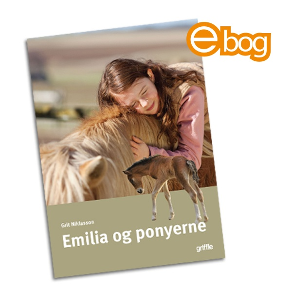 Image of Emilia og ponyerne ebog