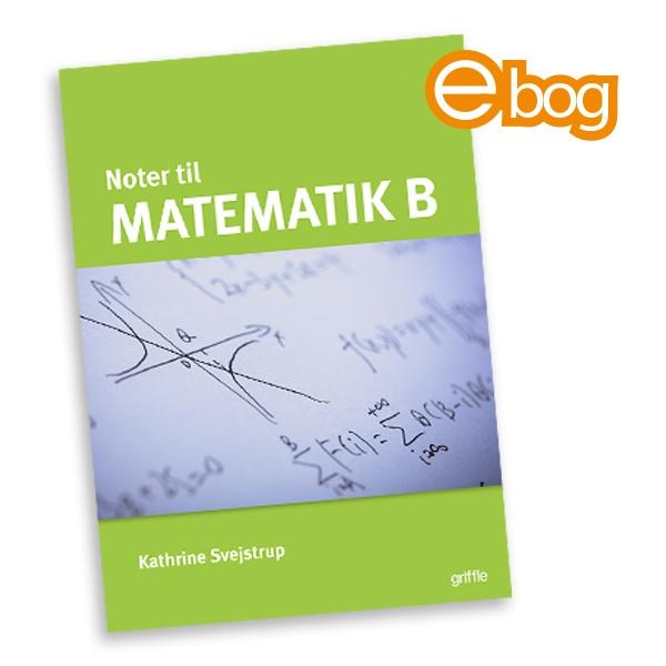 Image of Matematik B noter, ebog